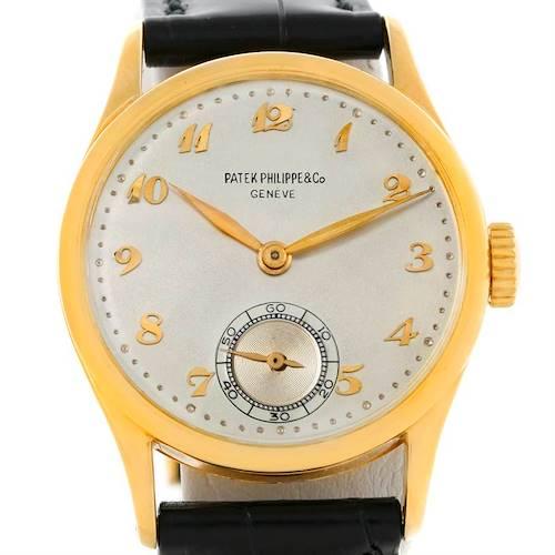 Photo of Patek Philippe Calatrava Vintage 18K Yellow Gold Watch 2418