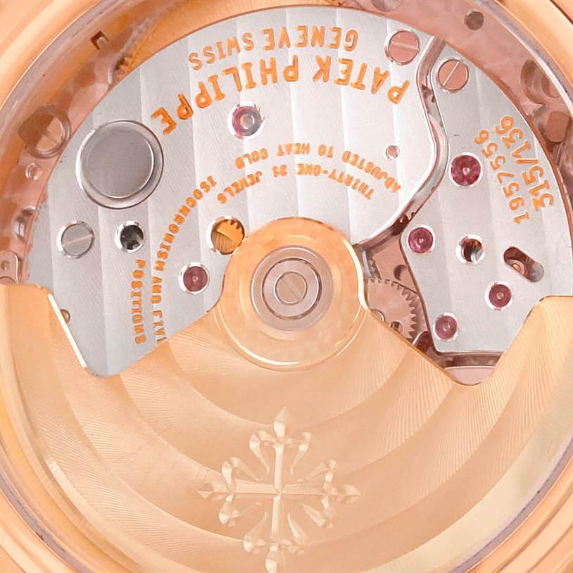 9011 Patek Philippe Perpetual Calendar Retrograde 18k Rose Gold Watch 5059R SwissWatchExpo