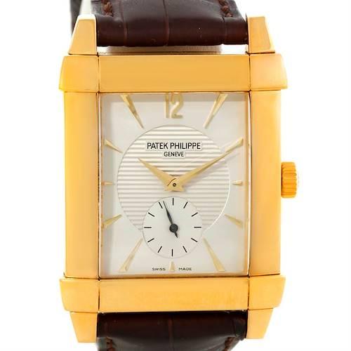 Photo of Patek Philippe Gondolo Mechanical 18K Yellow Gold Watch 5111J