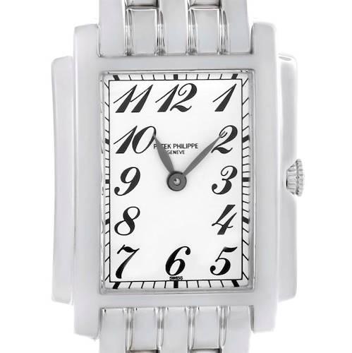 Photo of Patek Philippe Gondolo Ladies 18K White Gold Quartz Watch 4824