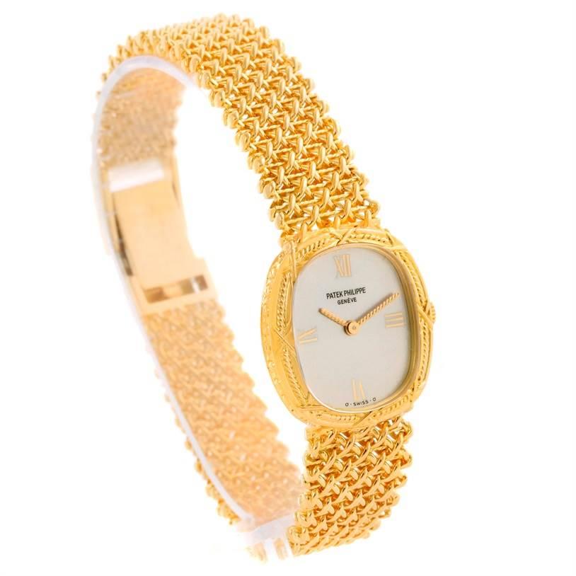 Patek Philippe Vintage 18k Yellow Gold Ladies Watch 4523/1 SwissWatchExpo