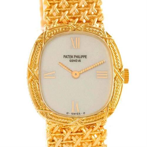 Photo of Patek Philippe Vintage 18k Yellow Gold Ladies Watch 4523/1