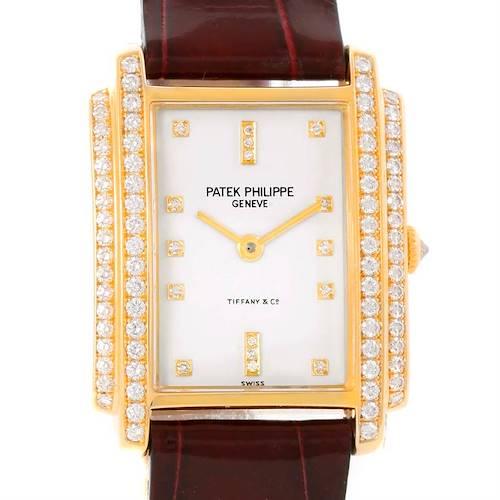 Photo of Patek Philippe Gondolo 18k Yellow Gold Diamond Ladies Watch 4825/100