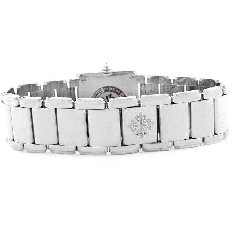 Patek Philippe Twenty-4 18K White Gold Diamond Ladies Watch 4908/200G-011 SwissWatchExpo