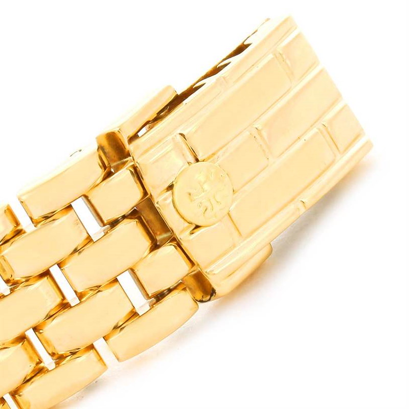 Patek Philippe Gondolo Ladies 18K Yellow Gold Quartz Watch 4824 SwissWatchExpo