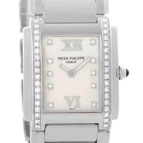 Photo of Patek Philippe Twenty-4 Stainless Steel Diamond Ladies Watch 4910