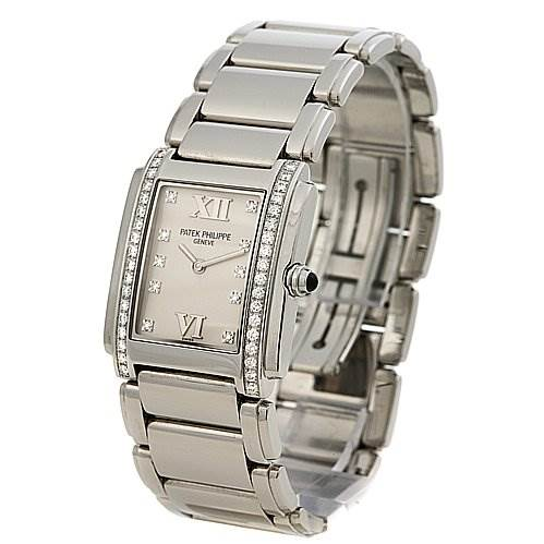 2462 Patek Philippe Ladies Quartz Diamond Twenty-4 4910 /10a Watch SwissWatchExpo