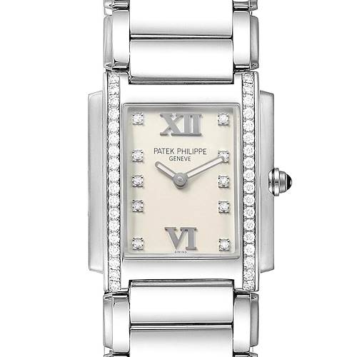 Photo of Patek Philippe Twenty-4 Diamond Ladies Quartz Watch 4910