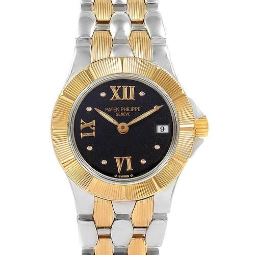Photo of Patek Philippe Neptune Steel 18k Yellow Gold Ladies Watch 4880