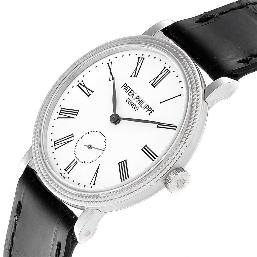 Patek Philippe Calatrava 31mm White Gold Ladies Watch 7119 Box Papers SwissWatchExpo