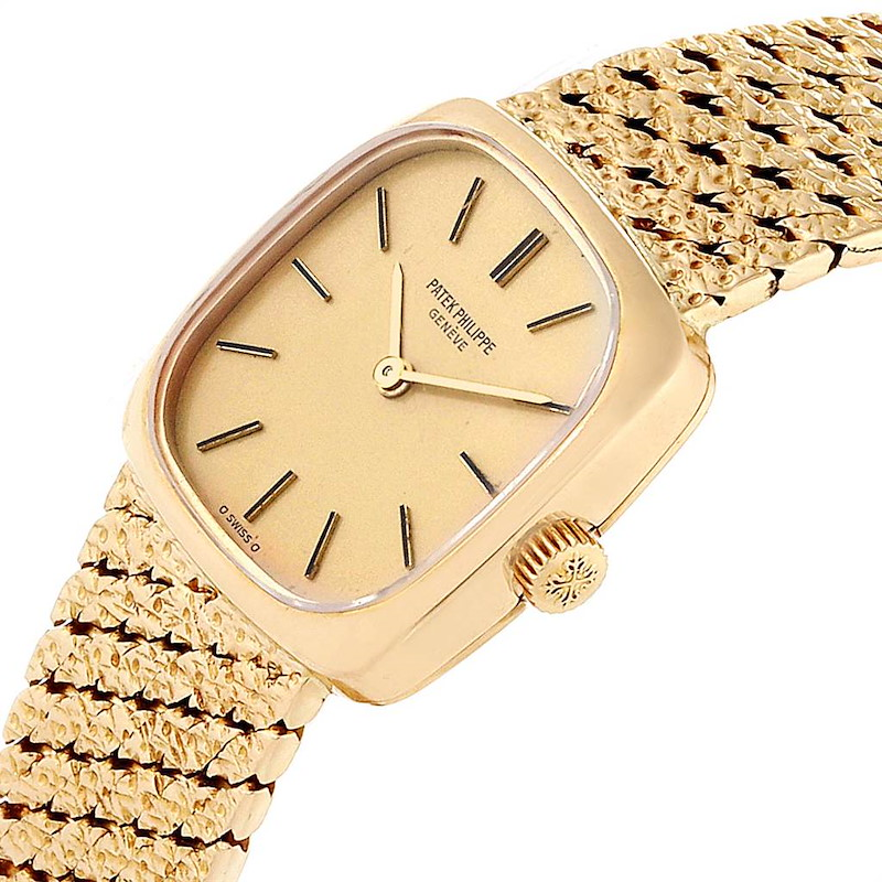 Patek Philippe 18K Yellow Gold Vintage Cocktail Ladies Watch 4179 SwissWatchExpo
