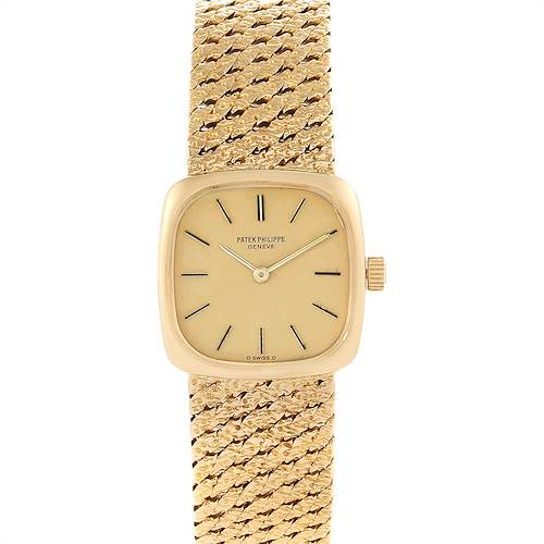 Photo of Patek Philippe 18K Yellow Gold Vintage Cocktail Ladies Watch 4179