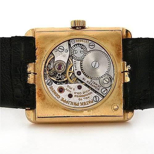 2338 Patek Philippe Vintage Ladies 18k y Gold Diamond 4311 SwissWatchExpo