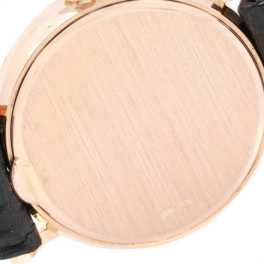 24152 Patek Philippe Calatrava Yellow Gold Hobnail Bezel Ladies Watch 4819 SwissWatchExpo