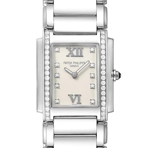 Photo of Patek Philippe Twenty-4 Diamond Ladies Quartz Watch 4910/10A-010