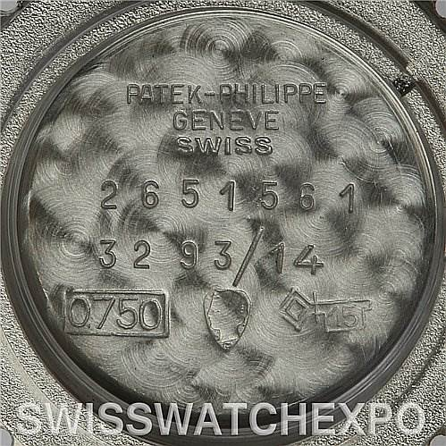 2612 Patek Philippe Vintage Ladies 18 W Gold diamond 3293/14 year 1966 SwissWatchExpo