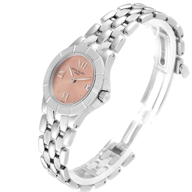Patek Philippe Neptune Steel Copper Dial Ladies Watch 4880 SwissWatchExpo