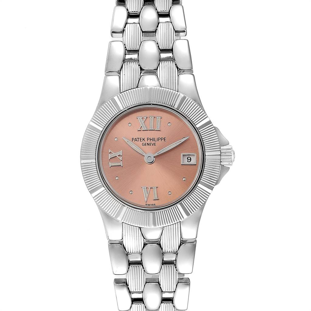 Patek Philippe Neptune Steel Copper Dial Ladies Watch 4880