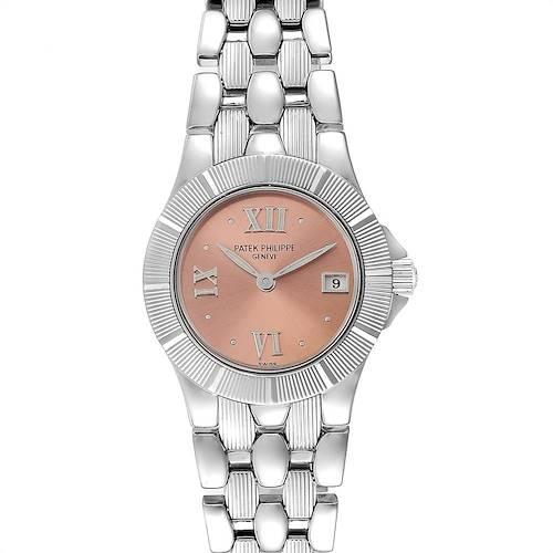 Photo of Patek Philippe Neptune Steel Copper Dial Ladies Watch 4880