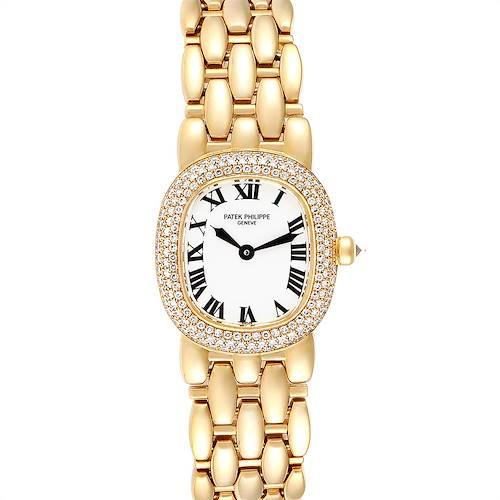 Photo of Patek Philippe Golden Ellipse Yellow Gold Diamond Ladies Watch 4831
