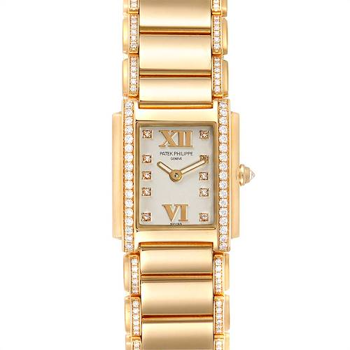 Photo of Patek Philippe Twenty-4 Small 18K Rose Gold Diamond Ladies Watch 4908