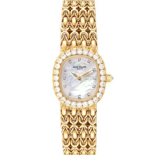 Photo of Patek Philippe Golden Ellipse Yellow Gold Diamond Ladies Watch 4931