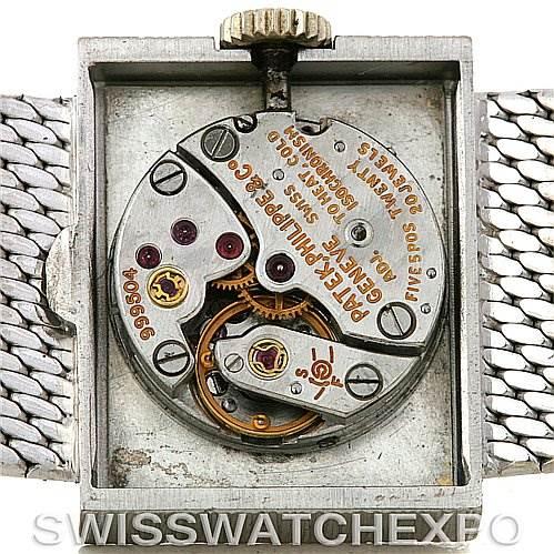 2841 Patek Philippe Vintage Ladies 18k White Gold Watch 3322 SwissWatchExpo