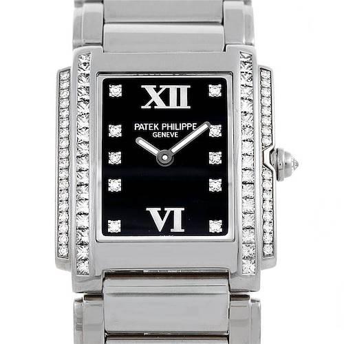 Photo of Patek Philippe Twenty-4 White Gold Diamond Ladies Watch 4910-20G-010