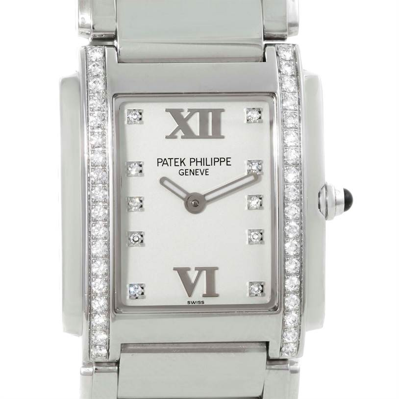 Patek Philippe Twenty-4 Diamond Ladies Watch 4910/10A-011
