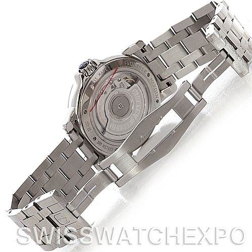 4708 Ulysse Nardin Dual Time Ladies Steel Watch 223-22 SwissWatchExpo