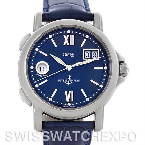 Photo of Ulysse Nardin 223-88 GMT Big Date 40mm Men's Watch