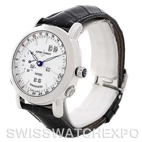 Ulysse Nardin GMT Perpetual Platinum 329-80 Limited Edition Men's Watch SwissWatchExpo