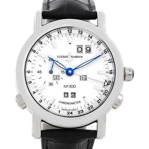 Photo of Ulysse Nardin GMT Perpetual Platinum 329-80 Limited Edition Men's Watch
