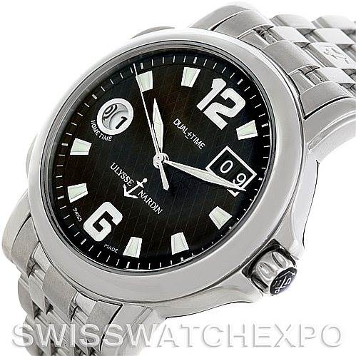 5751 Ulysse Nardin Dual Time Big Date Mens Watch 2238862 SwissWatchExpo