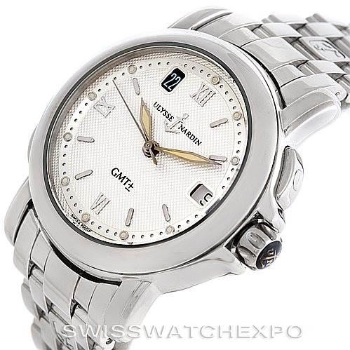 4621 Ulysse Nardin San Marco GMT Mens Watch 203-22 SwissWatchExpo