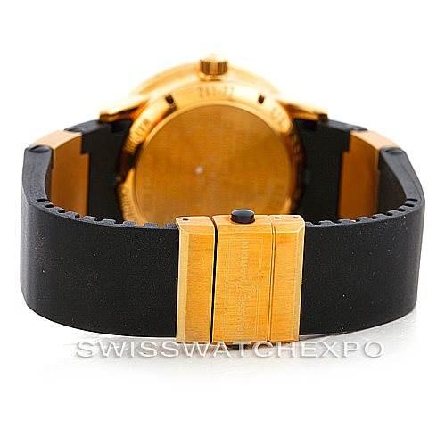 6524 Ulysse Nardin Marine 18K Yellow Gold Watch 261-77-3 Unworn SwissWatchExpo