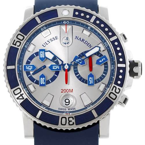 Photo of Ulysse Nardin Maxi Marine Diver Chronograph Watch 8003-102