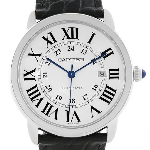 Photo of Cartier Ronde Solo Automatic Stainless Steel Mens Watch W6701010