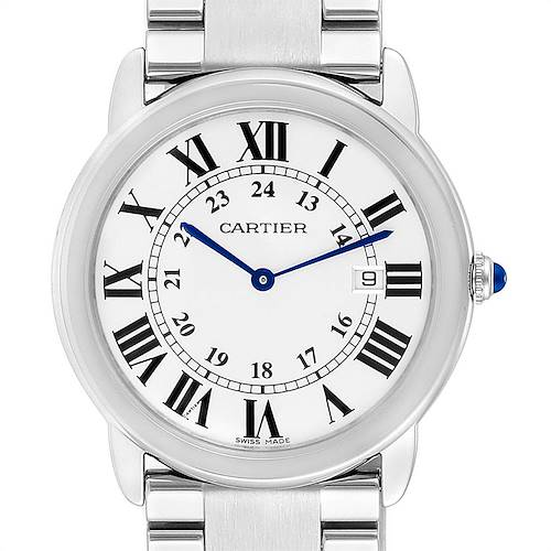 Photo of Cartier Ronde Solo Large Stainless Steel Mens Watch W6701005