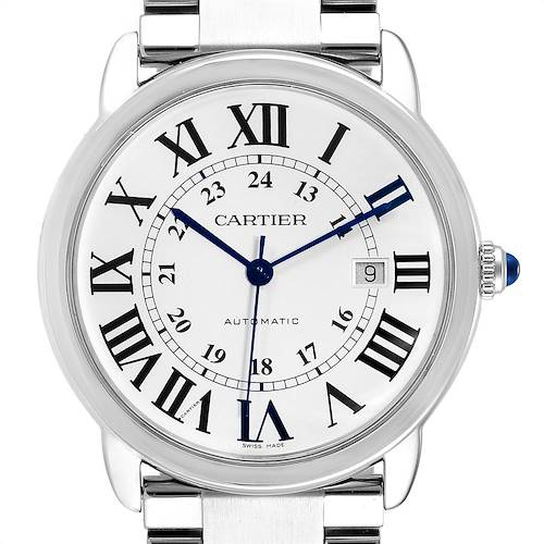 Photo of Cartier Ronde Solo XL 42mm Automatic Steel Mens Watch W6701011