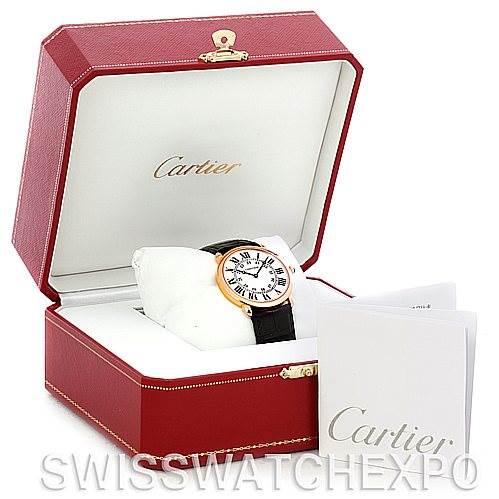 4788 Cartier Ronde Louis 18K Rose Gold Mens Watch W6800251 SwissWatchExpo