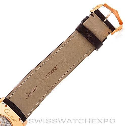 6239 Cartier Ronde Louis 18K Rose Gold Mens Watch W6800251   SwissWatchExpo