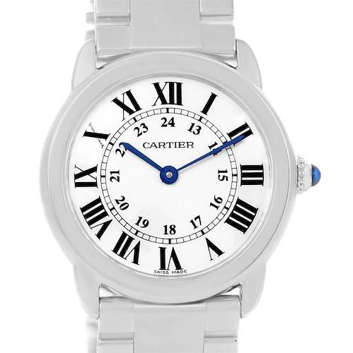 Photo of Cartier Ronde Solo Small Stainless Steel Ladies Watch W6701004