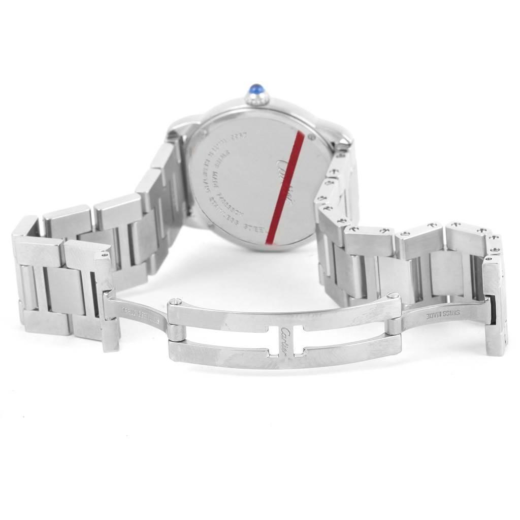 13755 Cartier Ronde Solo Stainless Steel Quartz Ladies Watch W6701004 SwissWatchExpo