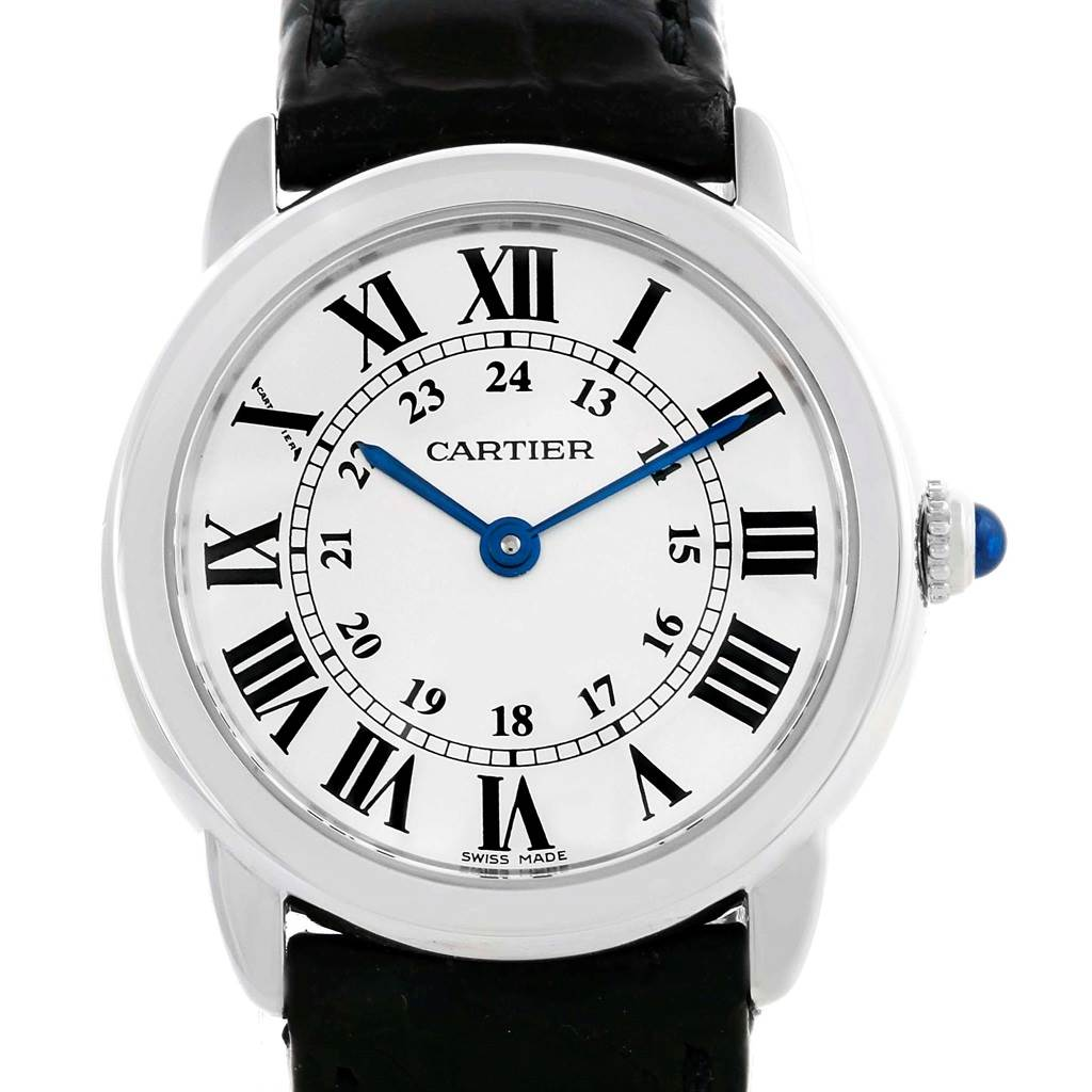 15080 Cartier Ronde Solo Stainless Steel Ladies Watch W6700155 SwissWatchExpo