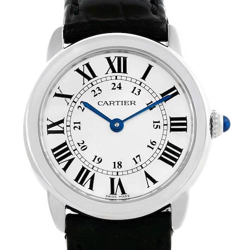Photo of Cartier Ronde Solo Stainless Steel Ladies Watch W6700155