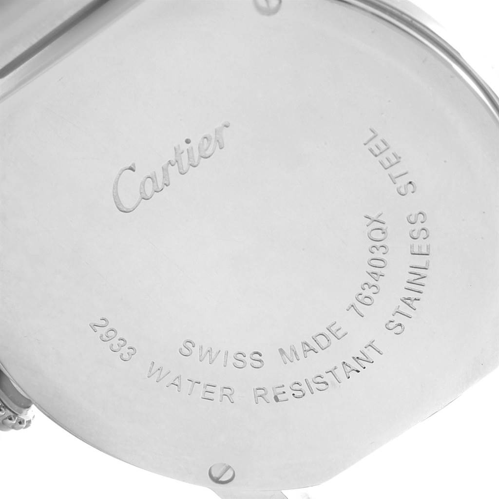 18660 Cartier Ronde Solo Stainless Steel Quartz Ladies Watch W6701004 SwissWatchExpo