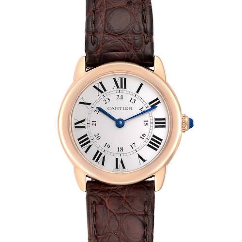 Photo of Cartier Ronde Solo Steel 18K Rose Gold Small Ladies Watch W6701007