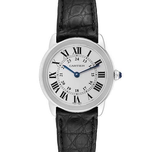 Photo of Cartier Ronde Solo Silver Dial Quartz Steel Ladies Watch W6700155