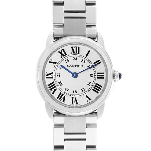 Photo of Cartier Ronde Solo Stainless Steel Quartz Ladies Watch W6701004